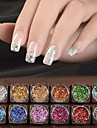 12 Nail Art Decoration Strass Pearls makeup Kosmetisk Nail Art Design