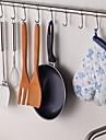 chuyuwuxian® inoxydable cuisine en acier 24inch suspendus tige avec 8 crochets