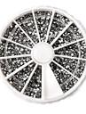 3600 Manucure De oration strass Perles Maquillage cosmetique Nail Art Design