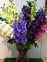 austin delphinium en tissu de soie fleur artificielle pour la decoration maison (1piece)