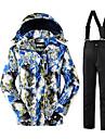 Skidkläder Klädesset/Kostymer Herr Vinterplagg Polyester Vinterkläder Håller värmen Bekväm Skyddande Leisure Sports Vintersport Vinter