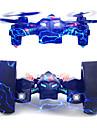 Drone RC 108x 4 Canaux 6 Axes 2.4G Quadrirotor RC Eclairage LED Retour Automatique Auto-Decollage Vol Rotatif De 360 DegresQuadri rotor