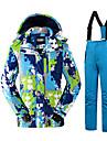 Tenue de Ski Ensemble de Vetements/Tenus Homme Tenue d\'Hiver Polyester Classique Mode Vetement d\'Hiver Garder au chaud ConfortableSports