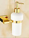 Tvålpump Ti-PVD Väggmonterad 15cm*10cm*20cm(5.9*3.9*7.8inch) Mässing Modern