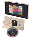 3,5 lcd video numerique 120 grand angle de vision nocturne de detection de mouvement camera sonnette porte automatique spectateur oeil
