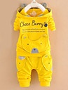 Seturi Bumbac Primăvară Toamnă Manșon Lung Set Îmbrăcăminte