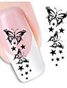 1pcs Nail Art Sticker 3D Nagelstickers makeup Kosmetisk Nail Art Design