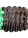 Tissages de cheveux humains Cheveux Indiens Ondulation naturelle 18 Mois 1 Piece tissages de cheveux