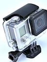Tillbehör till GoPro,Slät Ram Skyddsfodral Vattentätt hus Montering Vattentät, För-Actionkamera,Gopro Hero 3+ GoPro Hero 4 1
