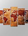 toile set Paysages Abstraits Moderne,Cinq Panneaux Toile Horizontale Imprimer Art Decoration murale For Decoration d\'interieur