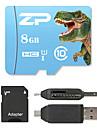 ZP 8GB MicroSD Clasa 10 80 Other Multiple într-un singur cititor de carduri cititor de carduri Micro SD cititor de carduri SD ZP-1 USB 2.0