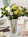 """17 """"h gardenia classique en verre vase arrangement"""