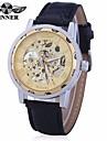 Bărbați pentru Doamne Unisex Ceas Sport Ceas Elegant Ceas La Modă ceas mecanic Mecanism automat Calendar Mare Dial Piele Autentică Bandă