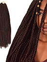 Box Braids twist Flätor Hårförlängningar 24Inch Kanekalon 24 Strands (Recommended By 5 Packs for a Full Head) Strå 90g gram Hair Braids