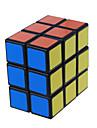 LanLan® Cube de Vitesse  2 * 3 * 3 Niveau professionnel Cubes magiques Noir Blanc Autocollant lisse / Anti-pop ressort reglable ABS