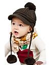 Băieți Căciuli & Băști-Iarnă Îmbrăcăminte tricotată Maro Roșu