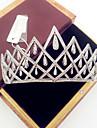 Femei Alamă Zirconiu Cubic Diadema-Nuntă Ocazie specială Informal Tiare 1 Bucată