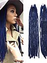 Crochet dreadlocks Extensions de cheveux Kanekalon Cheveux Tressee