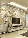 Decoration artistique 3D Fond d\'ecran pour la maison Classique Revetement , Toile Materiel adhesif requis Mural , Couvre Mur Chambre