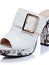 Femme Sandales club de Chaussures Similicuir Printemps Ete Automne Mariage Habille Soiree & Evenement club de Chaussures BoucleGros Talon