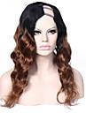 hombre # 1b / # 30 perruques vierge u brazilian partie perruque vierge 20inch de cheveux humains 1 * 4 partie gauche de upart vague lache