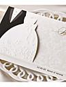 Împăturit în 3 Invitatii de nunta 50-Invitații Stil Clasic Hârtie cărți de masă