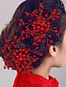 Peigne de Cote Accessoires pour cheveux Perle Perruques Accessoires Pour femme