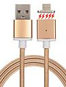 USB 2.0 Împletit Magnet Cablu Pentru Samsung Huawei Sony Nokia HTC Motorola LG Lenovo Xiaomi cm Metal Nailon