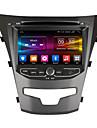 ownice 7 HD-skärm 1024 * 600 quad core android 6.0 gps radio för Ssangyong ny Actyon Korando 2014 support 4G LTE