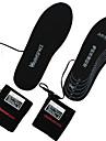 catifea USB pentru încărcare tălpi interioare de încălzire pot fi spălate&insertii respirabilitate negru alb