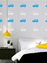 Mode Loisir Stickers muraux Autocollants avion Autocollants muraux decoratifs,Vinyle Materiel Decoration d\'interieur Calque Mural