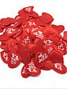 Set of 100  3.5*3.5cm I LOVE YOU Letter Heart Shape Flower Petals Confetti for Wedding Decoration