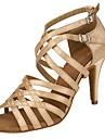 Chaussures de danse() -Personnalisables-Talon Personnalise-Satin-Latines