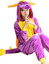 Kigurumi Pijamale Schelet Leotard/Onesie Festival/Sărbătoare Sleepwear Pentru Animale Halloween Peteci Coral FleeceCostume Cosplay