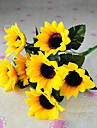 Gren Silke Solrosor Bordsblomma Konstgjorda blommor 23 x 15 x 15(9.06\'\' x 5.91\'\' x 5.91\'\')