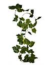 1 Une succursale Soie Plantes Guirlande et Fleur Murale Fleurs artificielles 240*9*9