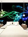 Decoration artistique 3D Fond d\'ecran pour la maison Contemporain Revetement , Toile Materiel adhesif requis Mural , Couvre Mur Chambre