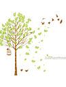 Botanique Mode Paysage Stickers muraux Autocollants avion Autocollants muraux decoratifs,Vinyle Materiel Decoration d\'interieurCalque