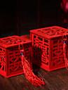10 Piesă/Set Favor Holder-Cubic Lemn Cutii de Savoare Sticle și Borcane pentru Dulciuri Nepersonalizat