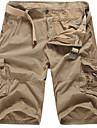 Bărbați Larg Vintage Simplu Drăguț Talie Medie,Inelastic Pantaloni Scurți Pantaloni Dungi