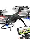 Drone Global Drone 4 Canaux 6 Axes 2.4G Avec Camera HD 2.0MP Quadri rotor RCFPV Retour Automatique Mode Sans Tete Vol Rotatif De 360