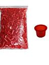 tatouage Solong encre 1000 pcs tatouage tasses bouchons en plastique de grande taille couleur rouge tc101-2