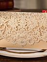 Împăturit în partea de sus Invitatii de nunta 50-Invitații Stil Clasic Hârtie Perlă