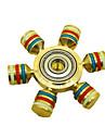 Spinner antistres mână Spinner Jucarii Șase Spinner Metal EDCStres și anxietate relief Birouri pentru birou Ameliorează ADD, ADHD,