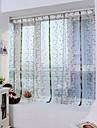 Un Panou Tratamentul fereastră Neoclasic Mediteranean European Designer  Sufragerie Poliester Material Sheer Perdele ShadesPagina de