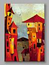Peint a la main Paysages Abstraits Verticale,Moderne Style europeen Un Panneau Toile Peinture a l\'huile Hang-peint For Decoration