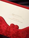 Card Plat Invitatii de nunta 50-Program Fan Meniul de nunta Invitații Felicitări de mulțumire Cărți de răspuns Exemple de Invitații