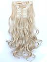 A Clipser Synthetique Extensions de cheveux 150 Extension des cheveux