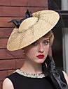 Împletitură Stil Coș Net Diadema-Nuntă Ocazie specială Informal Exterior Pălărioare Pălării/Căciuli 1 Bucată