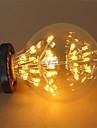 1pcs e27 g95 2.5w 300-350lm lămpi cu filament cu LED-uri Cub cald alb focuri de artificii lampă ac220-240v